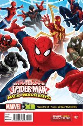 Marvel's Marvel Universe Ultimate Spider-Man: Web Warriors Issue # 1
