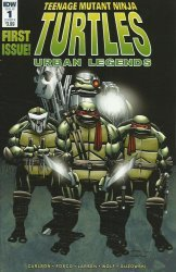IDW Publishing's Teenage Mutant Ninja Turtles: Urban Legends Issue # 1