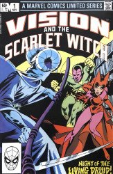 Marvel Comics's Vision and the Scarlet Witch Issue # 1