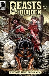Dark Horse Comics's Beasts of Burden: Wise Dogs and Eldritch Men Issue # 4
