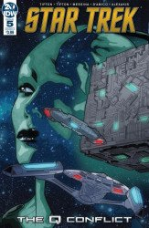 IDW Publishing's Star Trek: The Q Conflict Issue # 5