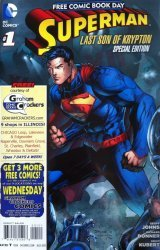 DC Comics's Superman Special Free comic book Day 2013 Issue # 1e