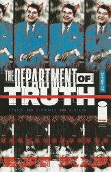 Image Comics's Department of Truth Issue # 2 - 2nd print