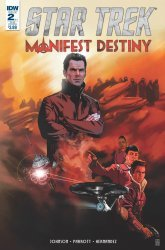 IDW Publishing's Star Trek: Manifest Destiny Issue # 2sub
