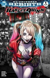 DC Comics's Harley Quinn Issue # 1aod-c