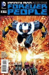 DC Comics's Infinity Man and the Forever People Issue # 3