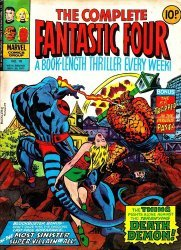 Marvel UK's Complete Fantastic Four Issue # 10