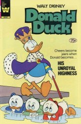 Whitman's Donald Duck Issue # 245b