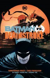 DC Comics's Batman vs Deathstroke Hard Cover # 1