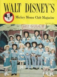 Western Printing Co.'s Walt Disney's Mickey Mouse Club Magazine Issue # 1