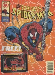 Marvel UK's The Exploits of Spider-Man Issue # 32