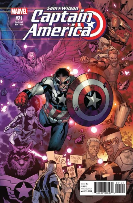 1st Print Marvel Comics Comics Captain America Sam Wilson #17 Nm