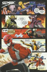 BOOM! Studios's Mighty Morphin Power Rangers Issue # 48d