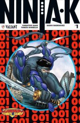 Valiant Entertainment's Ninja-K Issue # 1legends