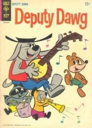 Gold Key's Deputy Dawg Issue # 1