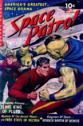 Ziff-Davis Publishing's Space Patrol Issue # 2