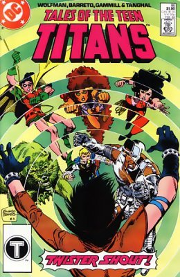Conversations! Certainly. Tales of the teen titans what result?
