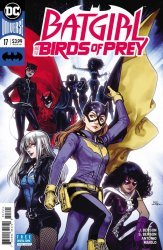 DC Comics's Batgirl and the Birds of Prey Issue # 17b