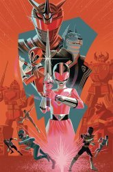 BOOM! Studios's Mighty Morphin Power Rangers Annual # 2018b