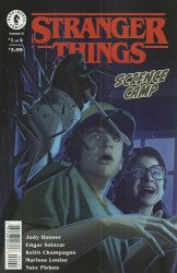 Dark Horse Comics's Stranger Things: Science Camp Issue # 1c