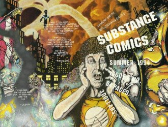 Substance Comics's Substance Quarterly Issue # 2