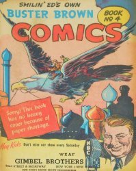 Buster Brown Shoes's Buster Brown Comics Issue # 4gimbel