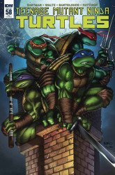IDW Publishing's Teenage Mutant Ninja Turtles Issue # 58anastasia