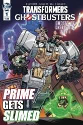IDW Publishing's Transformers / Ghostbusters Issue # 1b