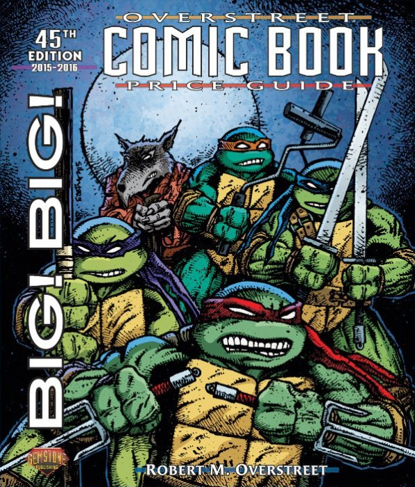 big big overstreet comic book price guide soft cover 45 gemstone rh comicbookrealm com overstreet comic book price guide 2017 Classic Illustrated Price Guide