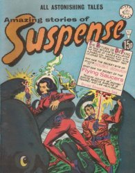 Alan Class & Company's Amazing Stories of Suspense Issue # 169