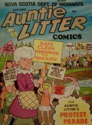 Comic Book World's Auntie Litter Comics Issue # 1