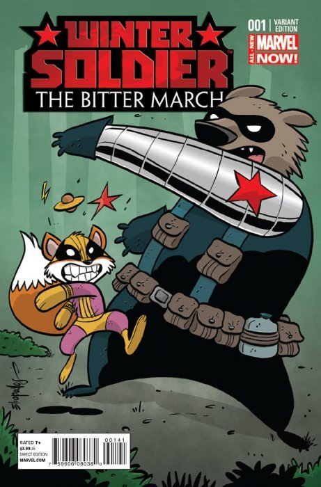 Winter Soldier Bitter March 1 NM 2014 Marvel Now Comics