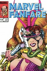 Marvel Comics's Marvel Fanfare Issue # 13