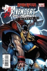 Marvel Comics's Avengers: The Initiative Issue # 21