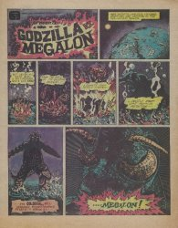 Cinema Shares International Distribution's Godzilla vs Megalon Issue nn