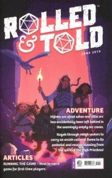 Lion Forge Comics's Rolled & Told Issue # 10