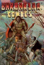California Comics's Barbarian Comics Issue # 4