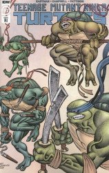 IDW Publishing's Teenage Mutant Ninja Turtles: Jennika II Issue # 3ri