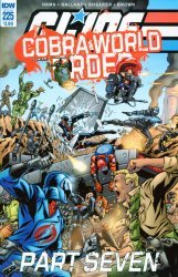 IDW Publishing's G.I. Joe: A Real American Hero Issue # 225