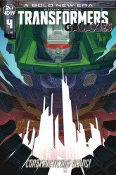 IDW Publishing's Transformers: Galaxies Issue # 4b