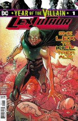 DC Comics's Lex Luthor: Year of The Villain Issue # 1