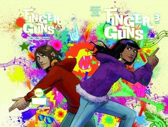 Vault Comics's Finger Guns Issue # 3b