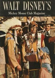 Western Printing Co.'s Walt Disney's Mickey Mouse Club Magazine Issue # 4