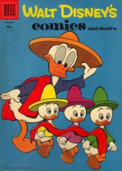 Dell Publishing Co.'s Walt Disney's Comics and Stories Issue # 208b