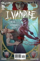 DC Comics's I, Vampire Issue # 3