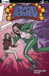 Keenspot Entertainment's Sister Powers Issue # 2d