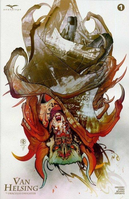 VAN HELSING VS DRACULA/'S DAUGHTER #1 NM COLAPIETRO Zenescope Grimm Fairy 2019