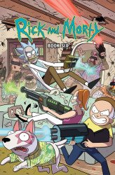 Oni Press's Rick and Morty Hard Cover # 6
