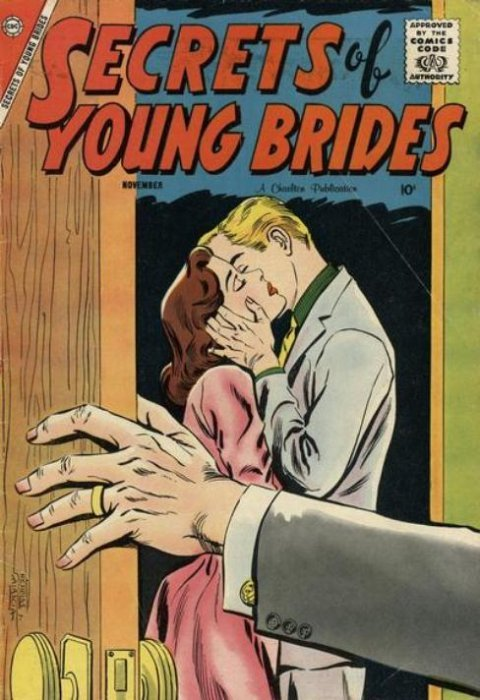 Image result for secrets of young brides comic cover
