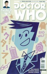 Titan Comics's Doctor Who: 10th Doctor Year Two Issue # 6c